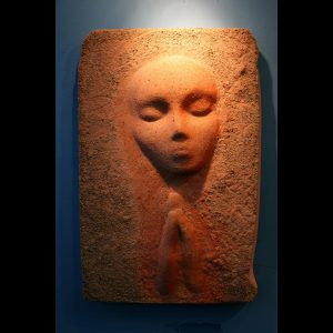 A Prayer Lady 1; Dyed Concrete - $125 - SOLD