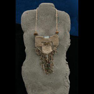 A Prayer Lady Torso Tan; Dyed Concrete (Necklace Separate) - $225 - SOLD