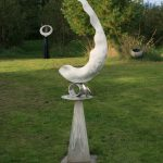 "Daphnis; Stainless Steel; 7'2""x 20""x18""; $6,500"