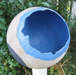 Egg Blue White - SOLD