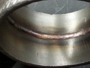SS TIG Pipe Open Root Butt Weld