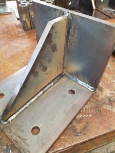 Bracket Fabbed and Welded by DA