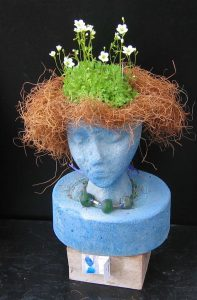 Blue Planter Head - SOLD