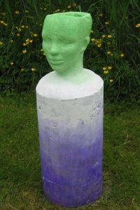 Purple Planter Head - SOLD