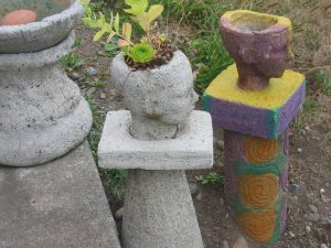 Planter Heads and Columns - SOLD